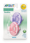 Avent Soothie Baby Schnuller 0-3 Monate Rosa/Lila