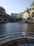 En bateau dans les Calanques