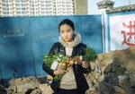 Vegetable Weapon: Mutton hot pot / Beijing, 2002