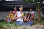 Vegetable Weapon: Nam puri/ Chiangmai, Thailand, 2004