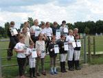 Ponyführerschein, Steckenpferd, Kleines + Großes Hufeisen
