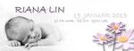 Riana Lin 215x80mm I 2-seitig