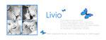 Danke Livio I 215x80mm I 2-seitig