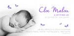 Cloe Malou 210x100mm I 2-seitig