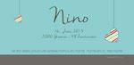 Nino 210x100mm I 2-seitig