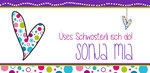 Sonja Mia 210x100mm I 2-seitig