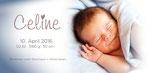 Celine I 210x100mm I 2-seitig