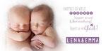 Lena&Emma 210x100mm I 2-seitig