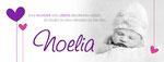 Noelia 215x80mm I 2-seitig