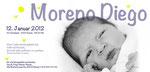 Moreno Diego 210x100mm I 2-seitig