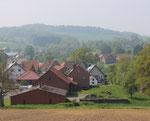 Blick auf Asendorf