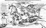 Die Schlacht bei Wimpfen, gezeichnet 1627