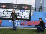 Grimmas Ex-Trainer Rainer Lisiewicz stellt sich den Fragen von Muldental TV