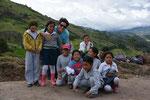 Schulkinder mit Karin