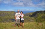 Kratersee auf dem Weg nach Orongo