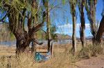 Lagune Brealito, relaxen in der Hängematte