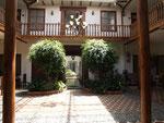 Innenhof in Cuenca