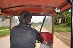Tuk Tuk fahren wie in Bangkok