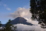 view to the active volcanoTungurahua