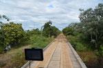 120km und 87 Brücken, uns haben 50km übelste Schlammpiste gereicht