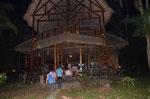 Ankunft in der Lodge
