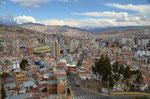 La Paz, Aussichtspunkt Killi KIlli