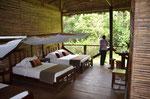 Unser Zimmer in der ersten Lodge
