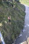 Bungee Jumping in Banos. No, we didn`t do it.