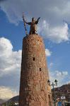 Monument von Inka Pachacuteq
