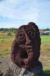 Skulptur in der Nähe des Hafens, Till Eulenspiegel??