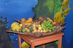 Fruchtschale in unserem Lieblingsrestaurant