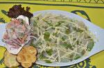 Fisch Carpacio in unserem Lieblingsrestaurant