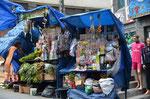 Die diversen Märkte hinter der Plaza San Francisco