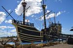 Mangellan`s Schiff in San Julian