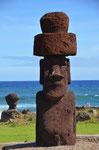 MOAI mit Hut