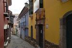 Calle Jaén, für Autos gesperrt