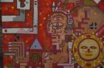 Graffiti - gesehen bei der Puente del Inca