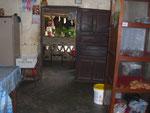 Bäckerei in San Jose de Chiquitos, ja, das Brot rechts in der Ecke ist alles was da ist