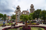 Main plaza in Huaraz