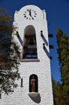 Der Mönch im Glockenturm in Hunahuarca