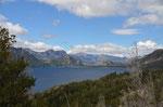 Blick auf den Lago Traful