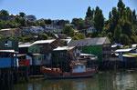 Chiloe: Pfahlbauten in Castro