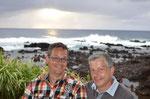 Mit Dirk und Jörg aus Stuttgart in unserem Liebingsrestaurant