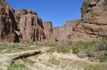 Wanderung im Canyon