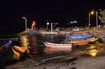 Hafen von Ranga Hoa bei Nacht