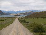 Anfahrt zum Lago Carrera