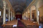 eine der 150 Holzkirchen von Chiloe von innen