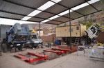 MOMO in der Werkstatt in Cusco