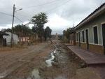 Strasse in San Jose de Chiquitos, der Ort hat 20.000 Einwohner