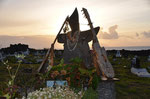 Auf dem Friedhof von Hanga Roa